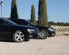 Rent a luxury car with chauffeur