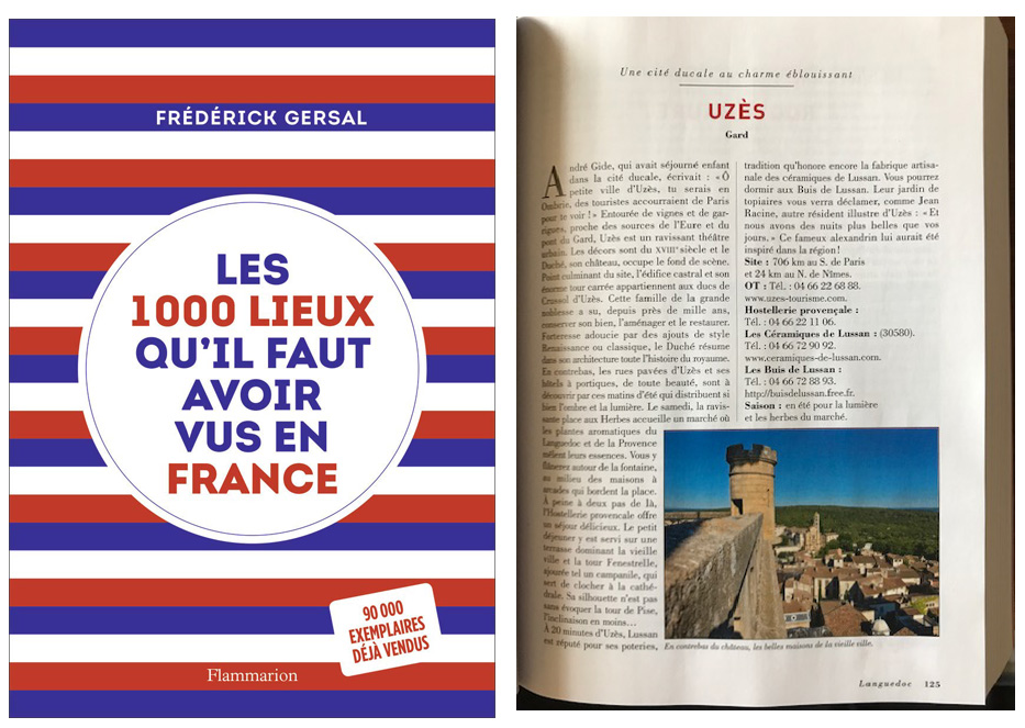 Les 1000 lieux qu'il faut avoir vu en France.
