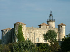 Le Château de Lussan