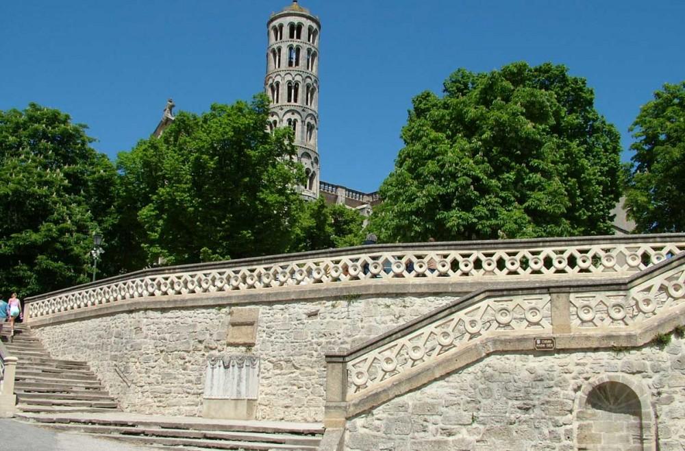 La tour Fenestrelle d'Uzès
