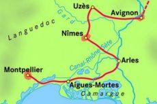 Provence Languedoc a vélo – 7 jours